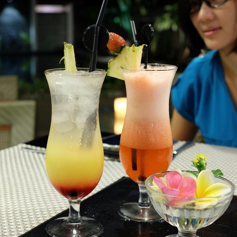 Refreshing Simpang Siur Punch & Hawaiian Sun
